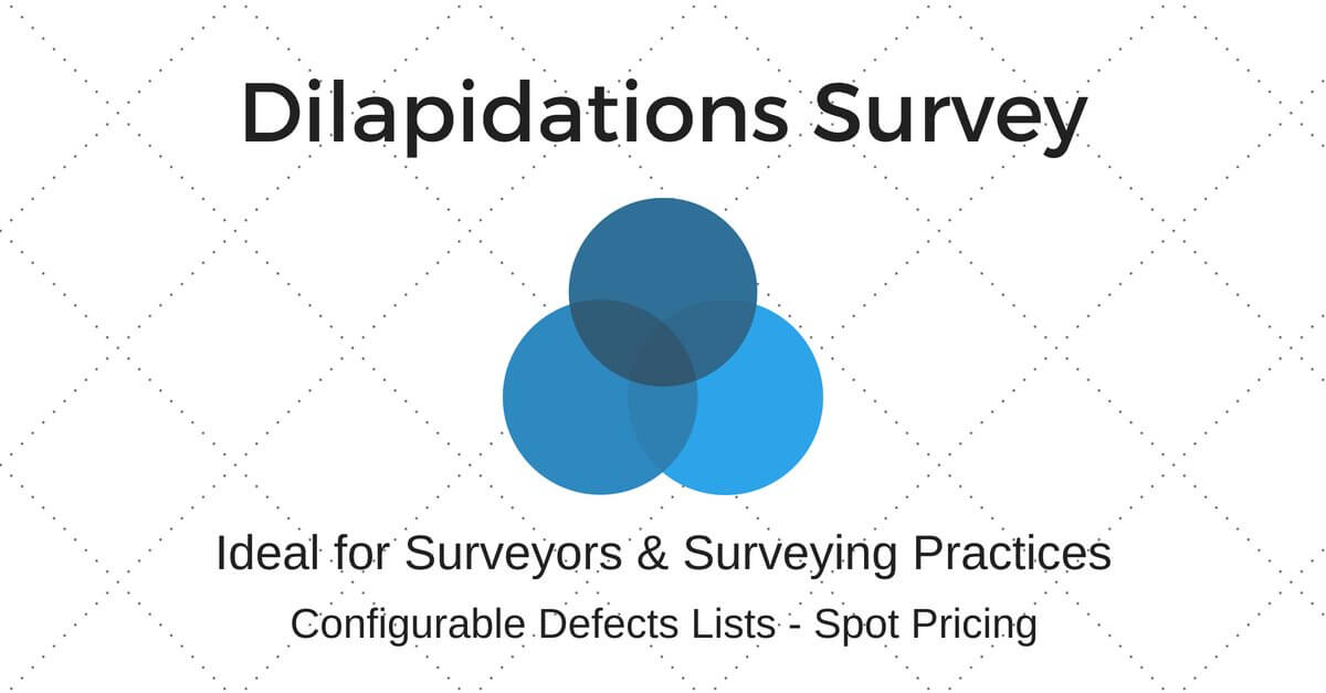 Dilapidations Reporting Software & Mobile App
