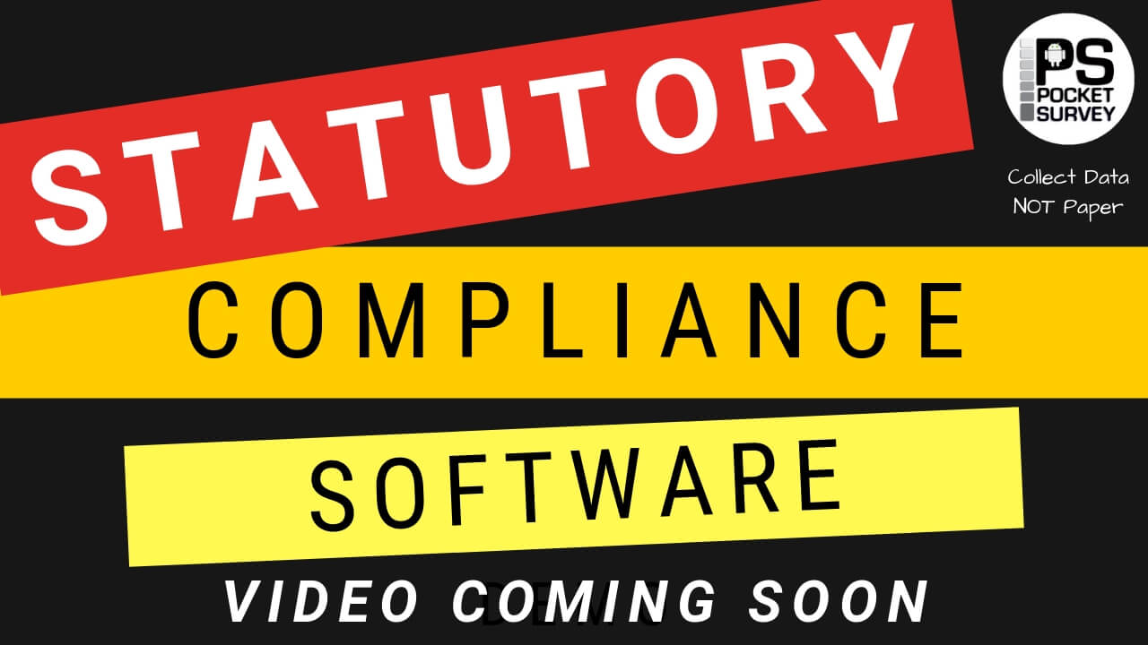 Statutory Compliance Survey Software