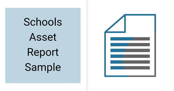 chools Asset Data Collection Report